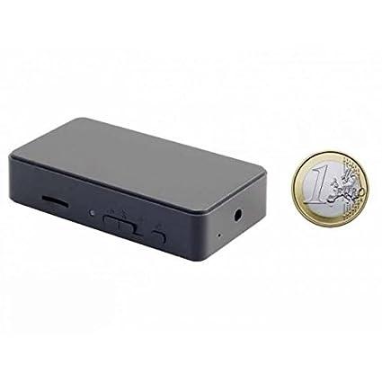 Mini camara espia HD 720p. Activacion por deteccion de movimiento, deteccion de sonido o