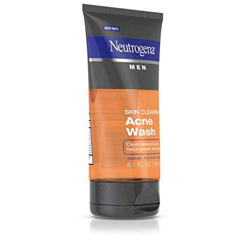 Neutrogena Men Skin Clearing Acne Wash-5.1 oz