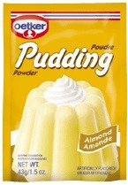 Dr. Oetker Almond Pudding 3 pack (Almond Pudding)