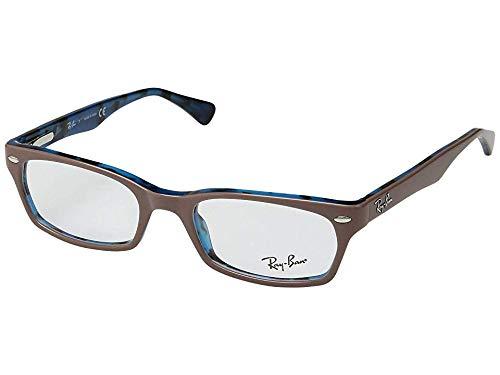 Ray-Ban Women's 0RX5150 Top Light Brown/Havana Blue One - Light Frame Eyeglasses Havana