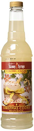 Jordan's Skinny Syrups Sugar Free Christmas Cookie, 25.4 Ounce