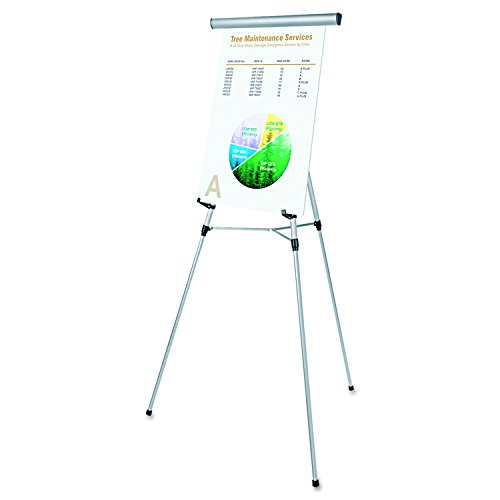 Universal 43050 3-Leg Telescoping Easel with Pad Retainer, Adjusts 34