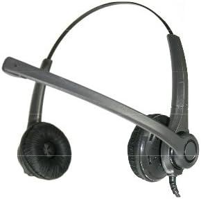 Auricular con micr/ófono para tel/éfono Fijo Freemate DH037 Biaural