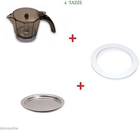 Alicia De Longhi jarra 4 tazas con sellos.5: Amazon.es: Hogar