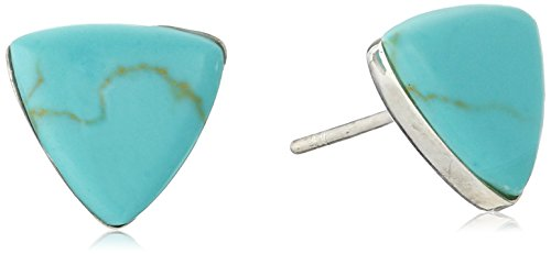 Sterling Silver Natural Triangle Earrings product image