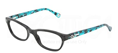 0aed00d13d Image Unavailable. Image not available for. Color  D G DD 1205 Eyeglasses  1826 Black Demo Lens 52-17-135. Dolce   Gabbana