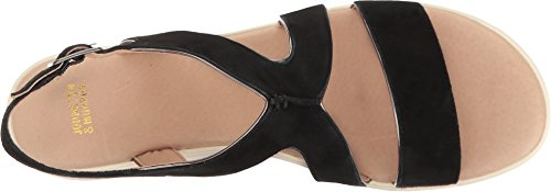 Women's Black Wedge Johnston amp; Cora Murphy Sandal qnxnaz0Ew