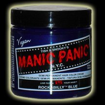 Manic Panic Rockabilly Blue Hair Dye #5 4oz