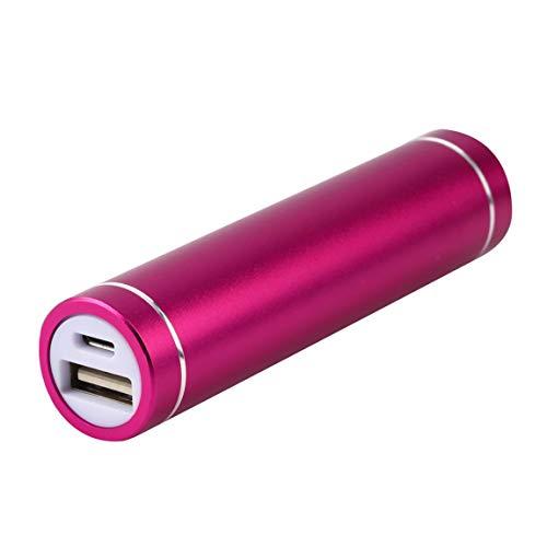 73JohnPol Mini USB Mobile Power Bank Cargador Paquete Caja Caja de batería para 1x 18650 Batería USB DC 5V Entrada…