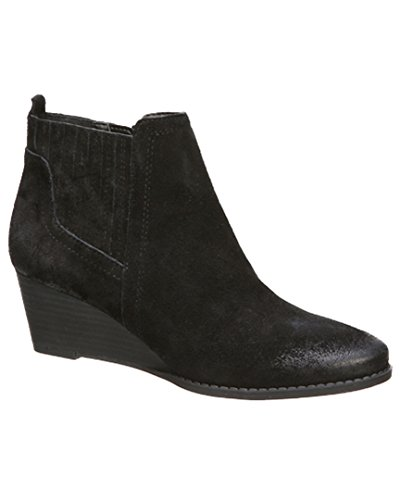 Franco Sarto Womens Wayra Wedge Bootie Noir