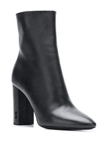Saint Femme Cuir Noir 5274180RRVV1000 Laurent Bottines qq5CY4x