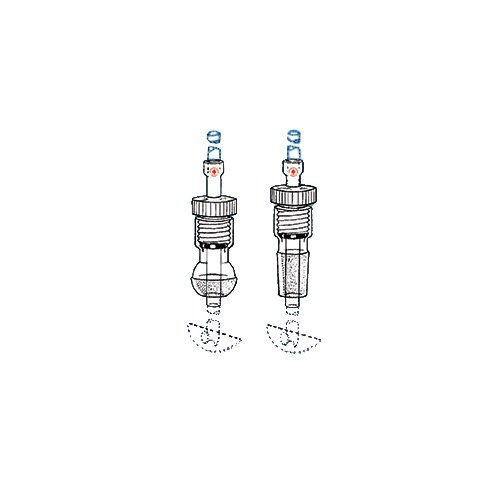 24//40 Inner Joint ACE Glass 8042-15 Glass Ace-Thread Maxi Adapter 15 mm OD