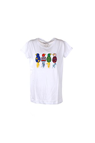 T-shirt Donna Kaos Twenty Easy Xs Bianco Hp3br019 1/7 Primavera Estate 2017