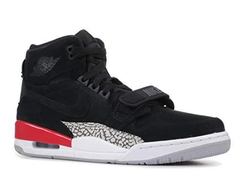 Nike AIR Jordan Legacy 312 Mens Basketball-Shoes AV3922-060_10 - Black/Black-FIRE RED