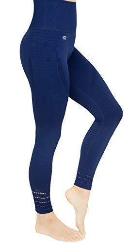 Prosske DLL1 Sportlegging voor dames, hoge taille, loopbroek, fitnessbroek, sportbroek, ademend