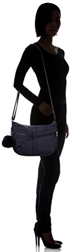 Izellah Blue Handbags Night Women's Kipling Emb Blue Cq5w1C6