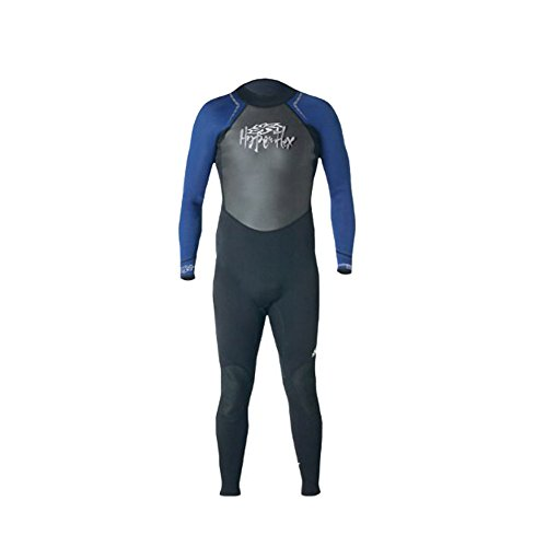 Hyperflex Wetsuits Men's Access 3/2mm Full Suit, Black/Blue, XX-Large - Surfing, Windsurfing & Wakeboarding