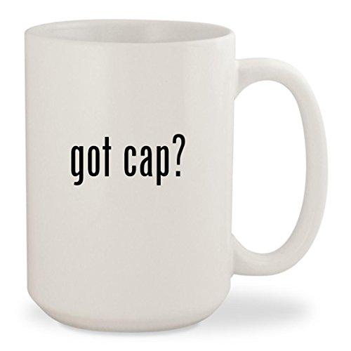 got cap? - White 15oz Ceramic Coffee Mug Cup Seattle Mariners Lunch