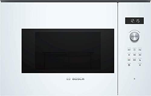 Bosch Serie 6 BFL524MW0 Incasso Microonde con grill 20L 800W Bianco forno a microonde