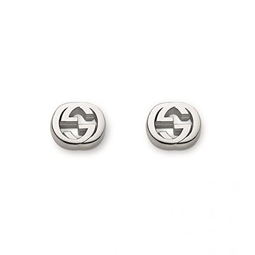 Gucci Women's Trademark Earrings Silver