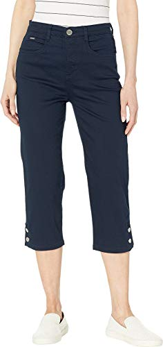 FDJ French Dressing Jeans Women's Soft Hues Denim Suzanne Capris in Navy Navy 10 21