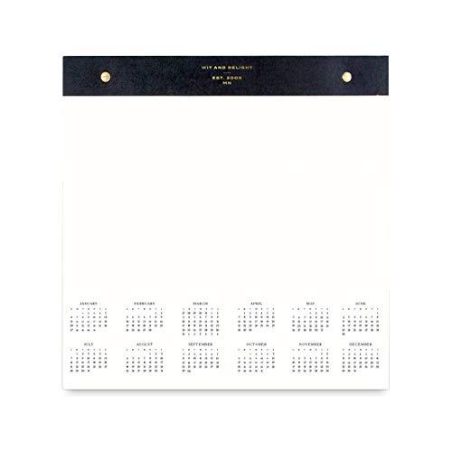 Wit & Delight - Desktop Notepad 2019 Calendar | Size: 12