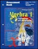 Algebra 1 Assessment Book, Miriam A. Leiva, 0395769574