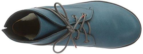 Think Inua, Botines para Mujer Azul - Blau (PETROL/KOMBI 88)