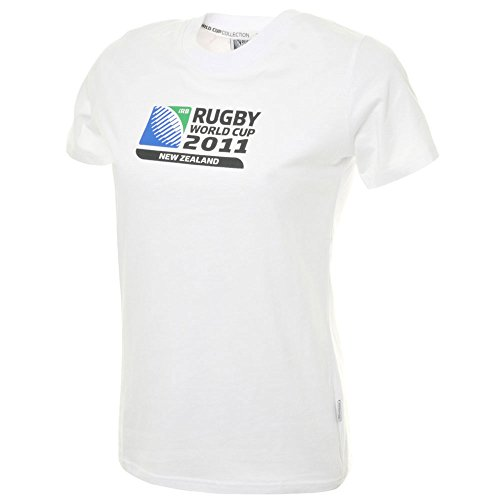 Rugby World Cup T-shirts - CCC Rugby World Cup 2011 Women's Logo T-Shirt [white]-Women's UK 10 - Womens UK 10