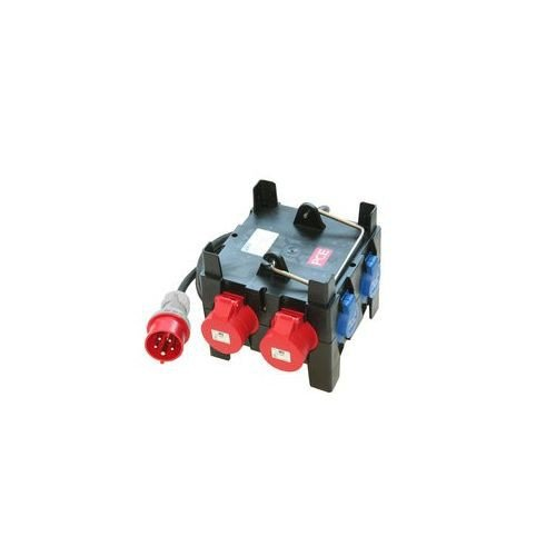 PC ELECTRIC Mobilverteiler Imst tragbar H07RN-F 5G2,5, 5x250 V/2x400 V IP44, 9030020