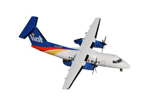 Gemini Jets 8-100 LIAT Dash Diecast Aircraft, 1:200 Scale