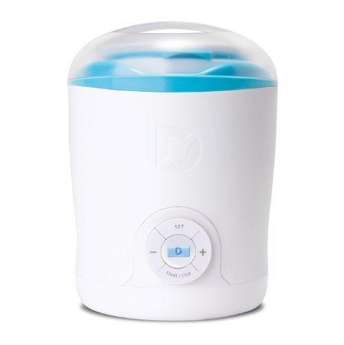 Dash Greek Yogurt Maker Color: White/Blue, Model: DGY001WBU, Hardware Store