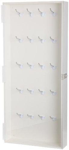 Brady Enclosed Padlock Storage Module with Clear Acrylic Door, 40-Padlock Capacity by Brady