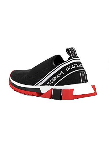 On Nero Gabbana Donna Sneakers amp; Dolce Tessuto Ck1595au98889690 Slip wtSgW4