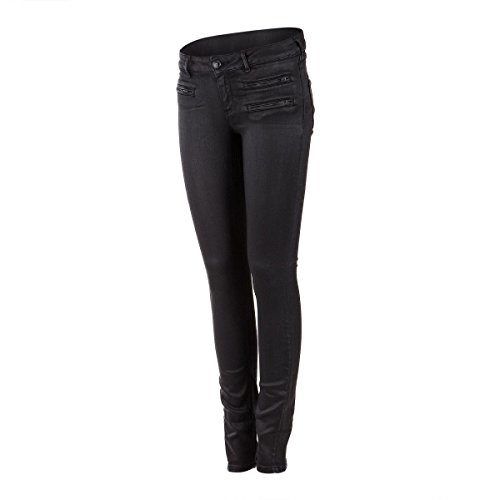 enduit Soda SODA AND 27 femme skinny Scotch SCOTCH Jean NOIR and IHFqCw