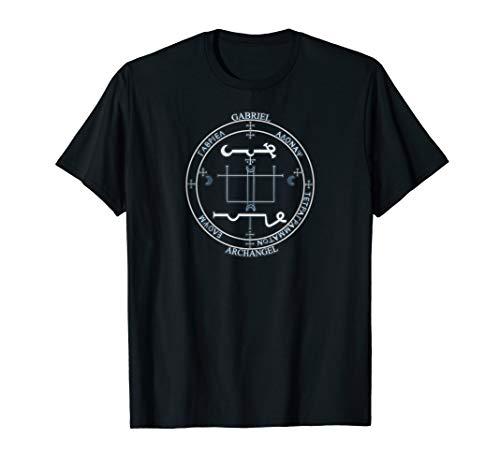 ARCHANGEL GABRIEL sigil seal T-shirt by Mortal Designs ()