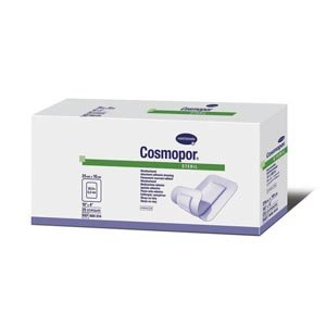 Hartmann 900814 Cosmopor Wound Dressing, Sterile, 4'' Length, 10'' Width (Pack of 200)