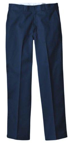 Pantalón de trabajo 874 Dickies original para hombre, azul marino oscuro 38 vatios x 36 litros