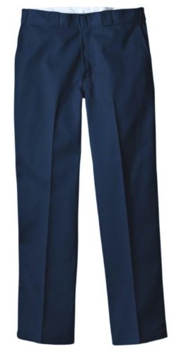 Dickies Men's Original 874 Work Pant, Dark Navy, 36W x 30L