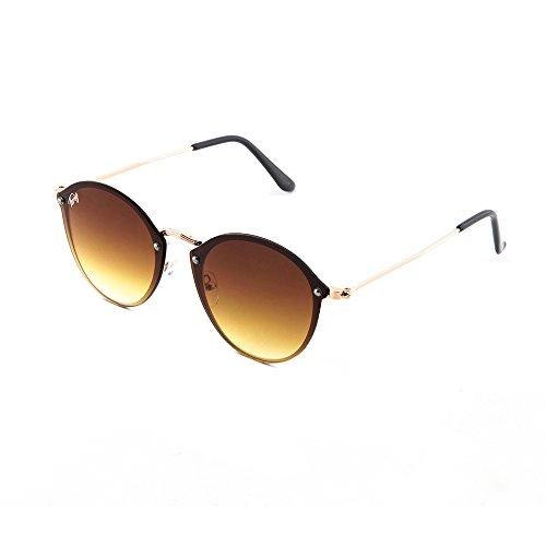 Marron Degradado mujer Bronce espejo FRIDA sol de degradadas TWIG Gafas 7wq8zYHW
