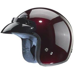 ZOX Classic adultos Harley casco para Moto Touring – sólido brillante Cherry