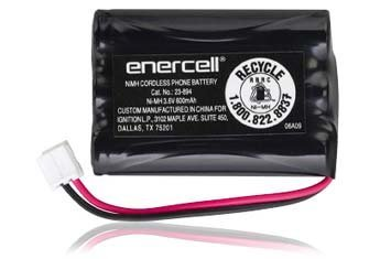 Enercell 3.6V/600mAh Ni-MH Cordless Phone Battery - Cordless Nickel Hydride Metal Phone