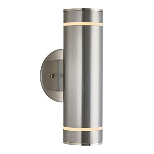 Stainless Outdoor Wall Light in US - 5