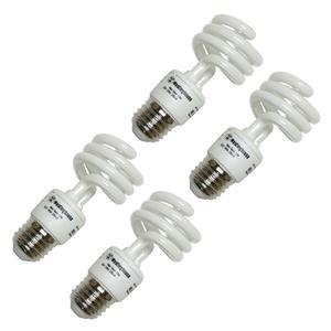 Westinghouse 3794600, 13 Watt CFL Light Bulb, (60W Equal) 2700K Soft White 82 CRI 900 Lumens (Twist Mini Westinghouse)