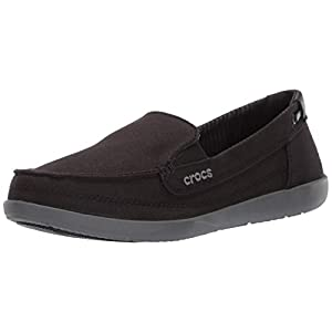 Crocs Women's Walu Canvas Loafer
