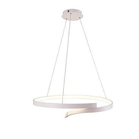 FDA3H Lámpara colgante LED Regulable 1 anillo Diseño Mesa de ...