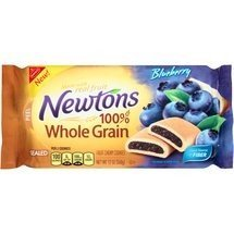 Nabisco, Newtons, Blueberry Chewy Cookies, 12oz Bag (Pack of 4)
