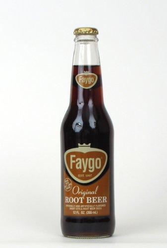 Faygo Root Beer (12 bottles)