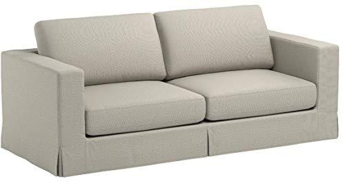 Stone & Beam Bryant Modern Slipcover Sofa, 85″W, Storm Grey - 7