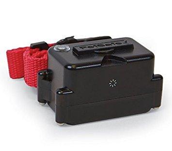 Petsafe Underground Dog Fence Collar - For Stubborn Dogs - Waterproof Receiver - 5 Levels of Correction Plus Vibration - PRF-275-19 Bonus One 9 Volt